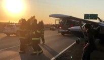 Arızalanan Uçak Otoyola İniş Yaptı