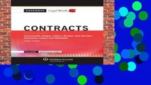 Best ebook  Casenote Legal Briefs for Contracts, Keyed to Farnsworth, Sanger, Cohen, Brooks, and