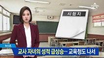 교무부장 쌍둥이 자녀, 성적 급상승…교육청도 나서