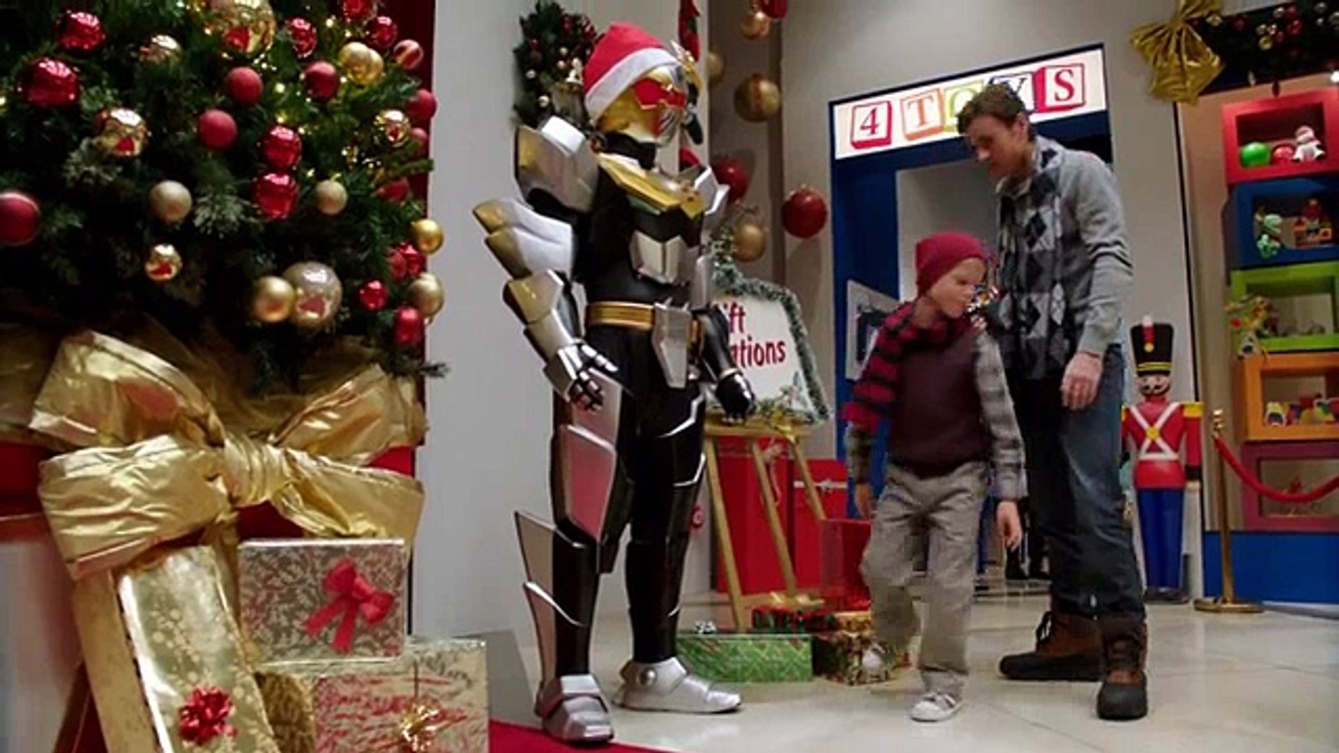 Power Rangers Christmas Tree.Power Rangers Megaforce S01 E22 Video Dailymotion
