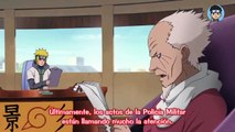 Sasuke Intenta arrestar a Naruto Pero Danzo Interfiere/Sasuke y Policía Militar Reprimen a aldeanos