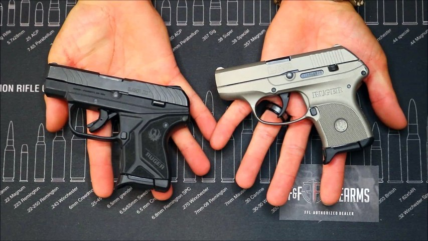 RUGER LCP VS LCP II