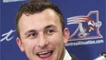 Johnny Manziel Appeared To Suffer Head Injury