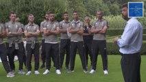 """AGNELLI, ai giocatori della JUVENTUS: """"QUEST'ANNO L'OBIETTIVO E' LA CHAMPIONS LEAGUE.."""""""