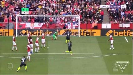 Arsenal vs Manchester City - Full Match Highlights | EPL 11.08.2018