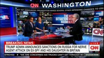 Panel on Donald Trump announces sanctions on Russia for nerve agent attack on Ex-Spy and his daughter in Britain. #DonaldTrump #Breaking #Russia #WolfBlitzer #News #BreakingNews
