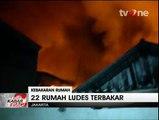 Kebakaran Besar di Cipinang Hanguskan 22 Rumah Warga