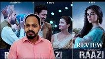 RAAZI |Film Reviews| Alia Bhatt & Shahid Kapoor Latest Hindi Movie | Indian Comedy Movie
