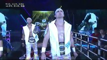 BULLET CLUB (Marty Scurll, Matt Jackson & Nick Jackson) (c) vs. BULLET CLUB (Taiji Ishimori, Tama Tonga & Tanga Loa) NEVER Openweight Six Man Tag Team Title Match NJPW G1 Climax 2018