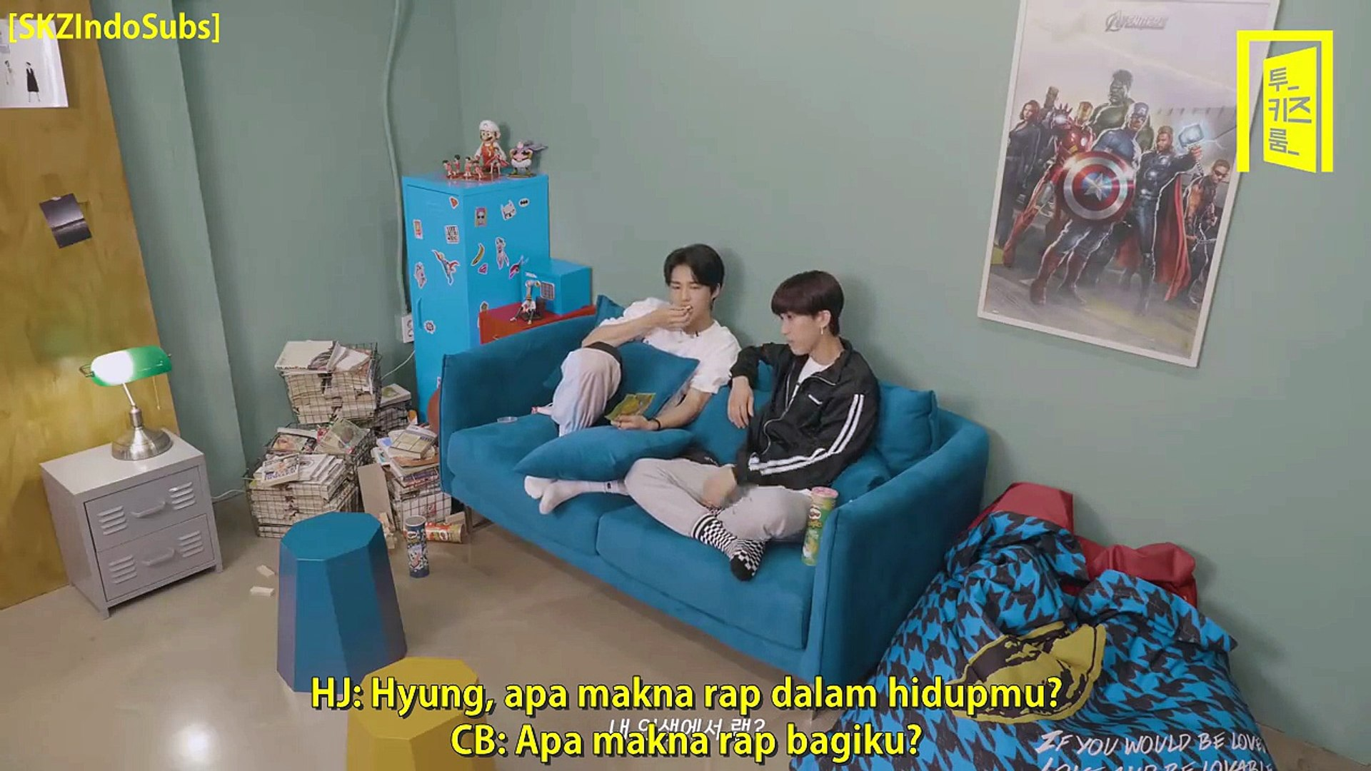 [INDO SUB] Stray Kids Two Kids Room Ep  1 (180811)