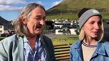 Roger Hodgson er komin til Føroya fyri at spæla á Summarfestivalinum og hevur í dag verið ein tyrlutúr við Atlantic Airways  Roger Hudgson spældi á Summarfesti