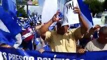 Inicia marcha exigiendo la liberación de los presos políticos por el regimén Ortega - Murillo >>