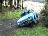 Retro Rally Crashes! Isle of Man - Ford Escort - Classic Mini - Ford Sierra - Vauxhall Nova