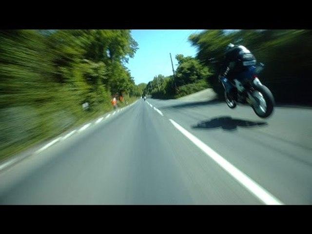 GUY MARTIN vs MICHAEL DUNLOP @ 200mph! PURE ADRENALINE! On Bike POV Lap! Isle of Man TT RACES