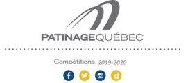 """Championnats  """"A"""" de la section Québec - Patinage Canada 2020"""