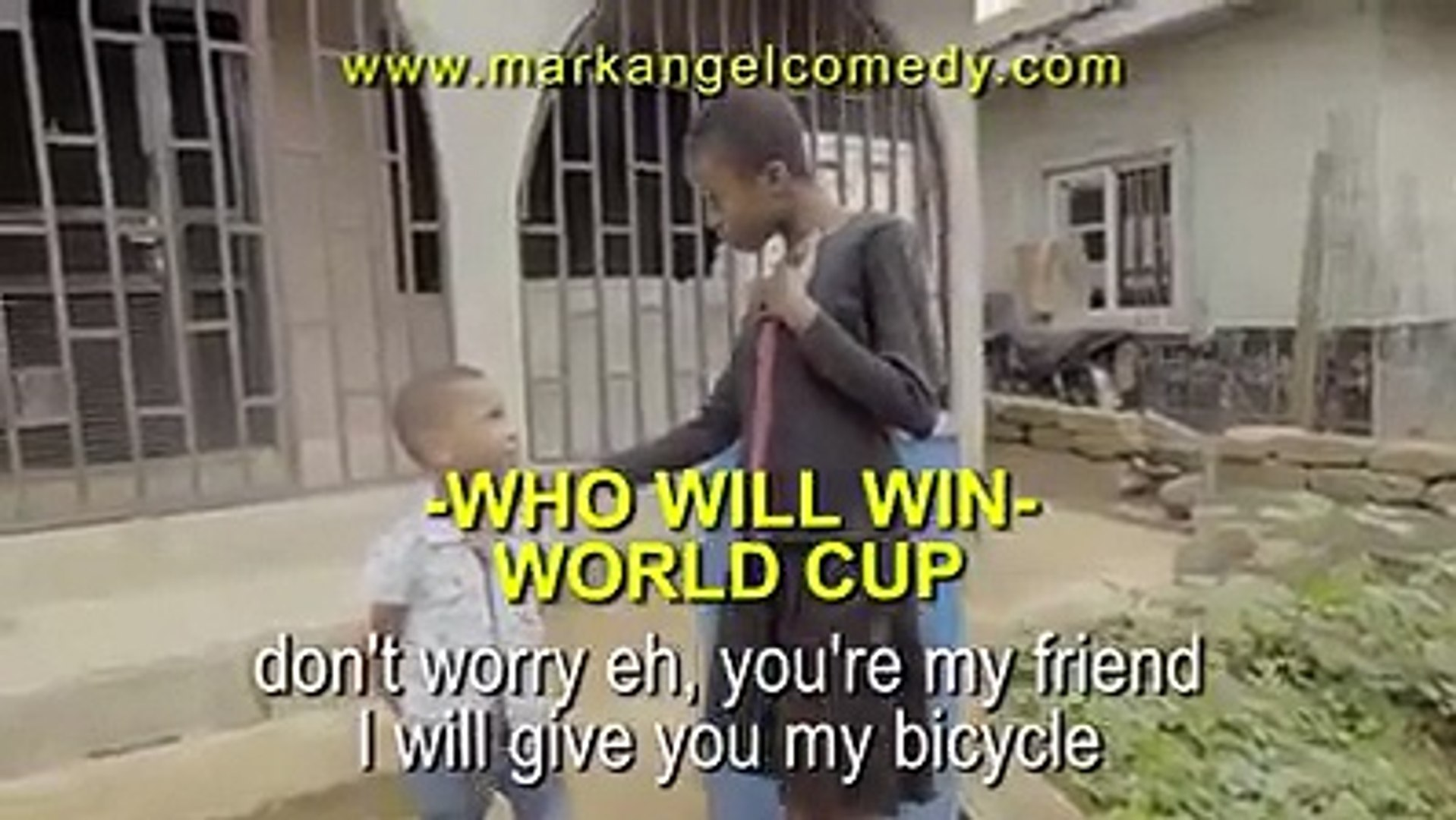 Aunty Success is a clown! This VERY FUNNY MARK ANGEL COMEDY will make you laugh for a long time.