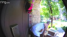 Video Shows Porch Pirate Swipe Hundreds of Dollars of Items from Doorstep