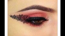 Best Eyeliner Tutorial - Flower Eyeliner  with Sigma Beauty