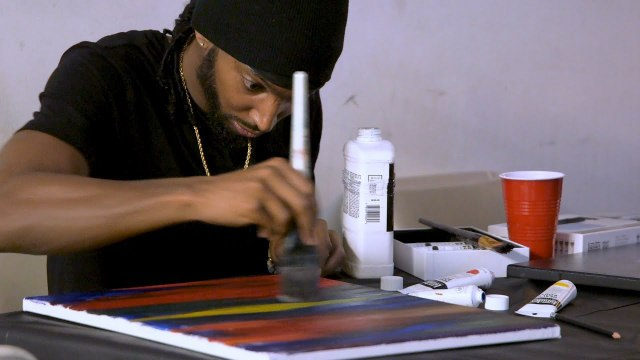 Puff n' Paint with Omar London