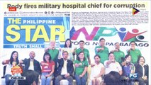 NEWS & VIEWS: 9 parties join Sara group; Prices of SRP-listed goods rise as high as 133 percent; Russian company eyes import of fresh Guimaras mangoes; San Mateo under state of calamity; DOT sees October 26 as fixed Boracay reopening date