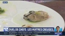 Duel des chefs: les huîtres creuses de Jean-yves Gueho face à Sylvain Guillemot