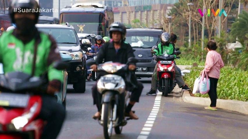 Keren! Trotoar Baru Sudirman-Thamrin Bikin Doyan Jalan Kaki