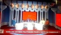 voici comment Cathy Toulou Elanga se fait humilier Par Garga Haman Hadji en Direct sur la CRTV ce mardi 07 Août.Le candidat à la Présidentielle a chassé la jou