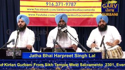 Shabad Kirtan Gurbani - Bhai Harpreet Singh Lal - Part 1- Garv Punjab Gurbani Channel