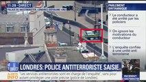"""Londres: """"J'ai vu deux policiers courir jusqu'à Westminster"""", raconte un témoin"""