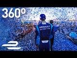 Formula E 360° Moments: Marrakesh ePrix Podium!