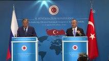 Çavuşoğlu-Lavrov ortak basın toplantısı - Rusya Dışişleri Bakanı Lavrov - ANKARA