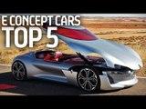 Top 5 E Concept Cars From Paris Motor Show! - Formula E