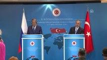 Çavuşoğlu-Lavrov Ortak Basın Toplantısı - Rusya Dışişleri Bakanı Lavrov (4)