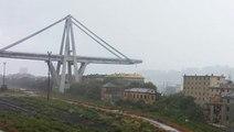Un viaduc de l'autoroute A10 s'effondre au-dessus de Gênes en Italie