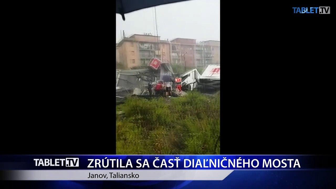 V troskách mosta v Janove našli 11 mŕtvych a 5 zranených