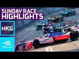 Streets Of Rage! Race Highlights: 2017 HKT Hong Kong E-Prix Sunday - Formula E