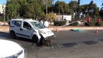 Mersin'de Ölümlü Kaza! Kaza Anı Görüntüleri Kamerada