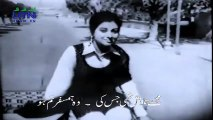 Ahmed Rushdi & Mala Begum : Mujhe Talash Thi Jis Ki - Who Hamsafar Tum Ho | Film : Jahan Tum Wahan Hum (1968) | Composer : Robin Ghosh | Lyricist : Masroor Anwar | Actors : Waheed Murad & Shabnam