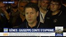 """Gênes: """"Neuf personnes sont peut-être encore sous les décombres"""", déclare Giuseppe Conte"""