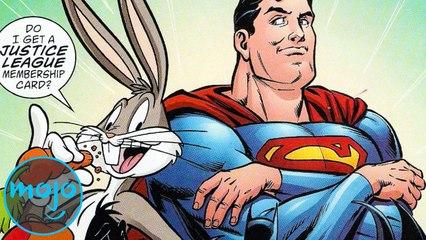 Top 10 Weirdest Comic Book Crossovers