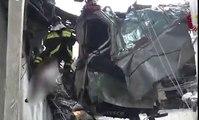 رجال الإنقاذ فى إيطاليا يواصلون البحث عن ناجين من انهيار جسر جنوة