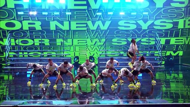 America's Got Talent 2018 - Junior New System- Men In High Heels Deliver High Energy Dance