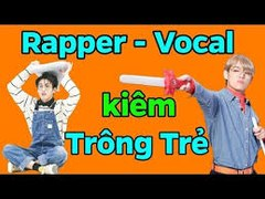 BTS Rapper Vocal kiem TRONG TRE BTS funny moments