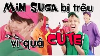 My hearteu SUGA Suga making BTS laugh