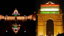 Independence Day : Indian Monuments lights up as Tricolor | Oneindia News