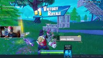 Ninja Carries a CUTE Kid to His Second Fortnite Win | Fortnite funny moments & Highlights