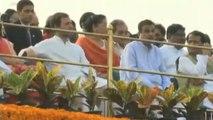 Independence Day : Rahul Gandhi को Red Fort में पहली पंक्ति में मिली जगह   वनइंडिया हिंदी