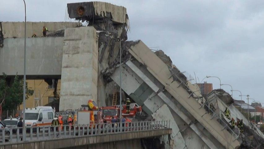 意大利高速公路大桥坍塌致22人死亡