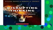 Best ebook  Disrupting Thinking: Why How We Read Matters  Review