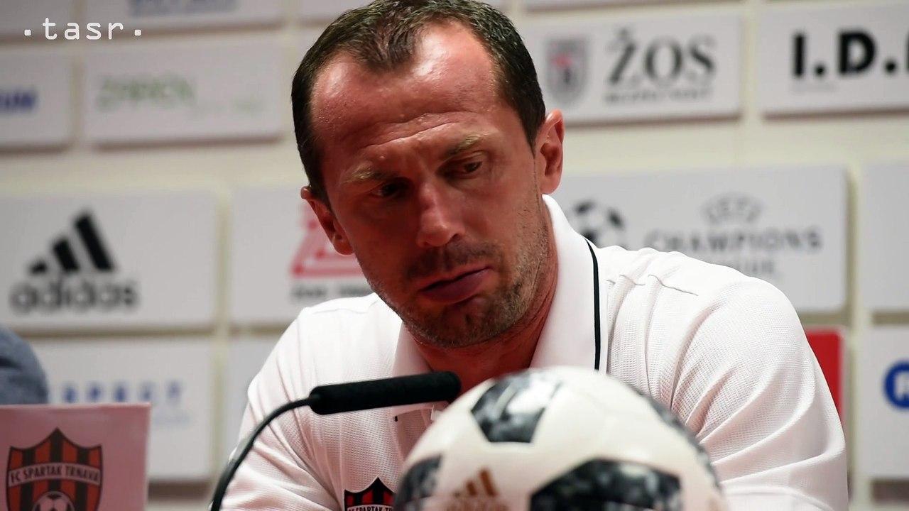 FUTBAL: Tréner Trnavy R. Látal hodnotí zápas s Crvenou Zvezdou Belehrad